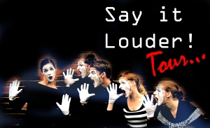 SAY IT LOUDER tour splash